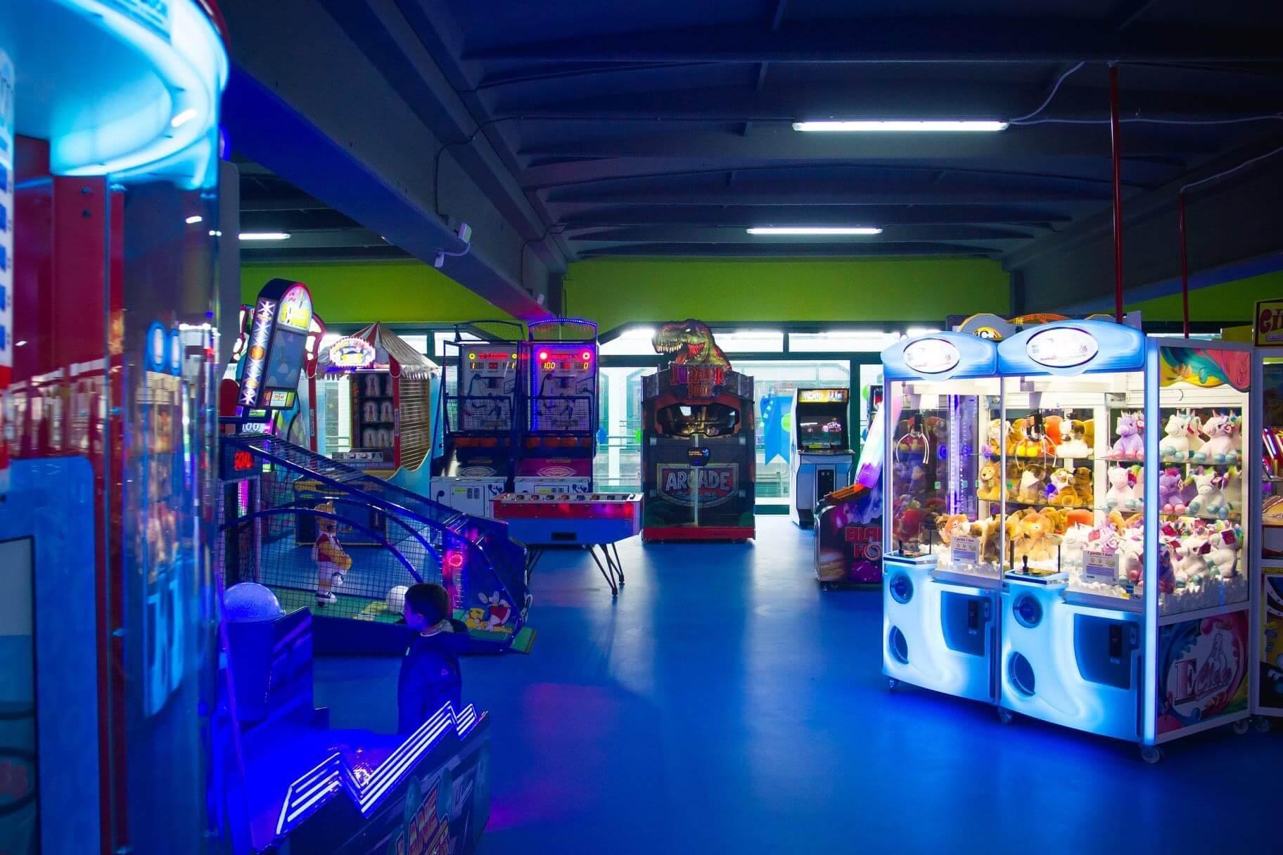 Sala Giochi realizzata da Jollygiochi